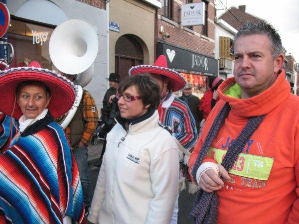 2 février 2013 - Ramassage du bois à Amay - Le Pré Carnaval