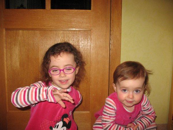 Février 2013 - Les petites s'amusent!