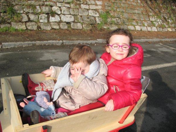 17 février 2013 - Promenade en chariot dans le quartier!