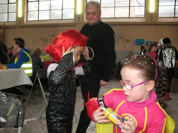 24 février 2013 - Carnaval à l'école de Célia