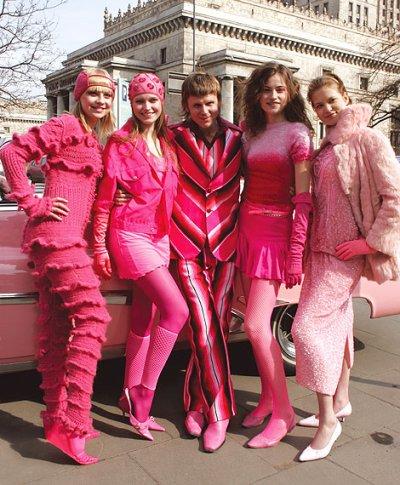 Pink girl : MODE
