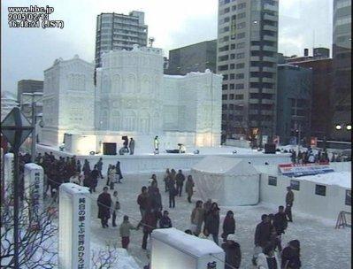 Debut fevrier ~ Festival de la neige a sapporo