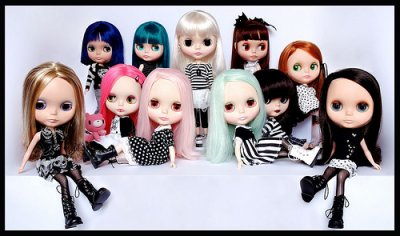 Les blythe dolls