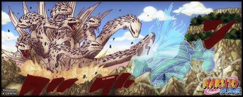 Susanoo et le serpent géant à huit têtes