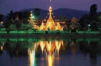 Paysages sublimes de Thaïlande