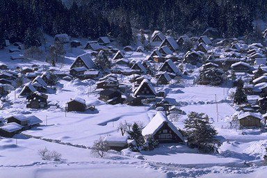 le village de Shirakawa go