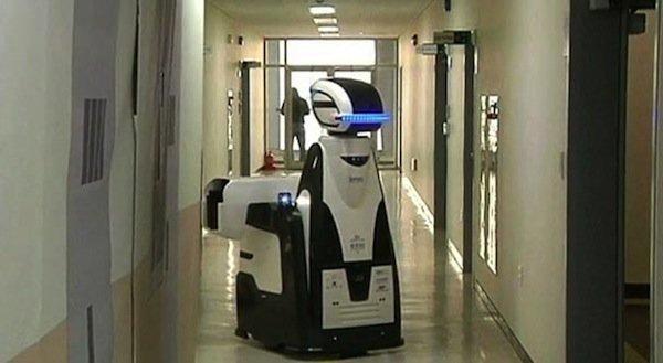 Après Robocop les robots gardiens de prison