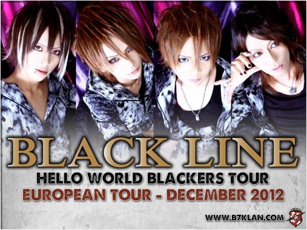 Black Line  9 décembre lyon