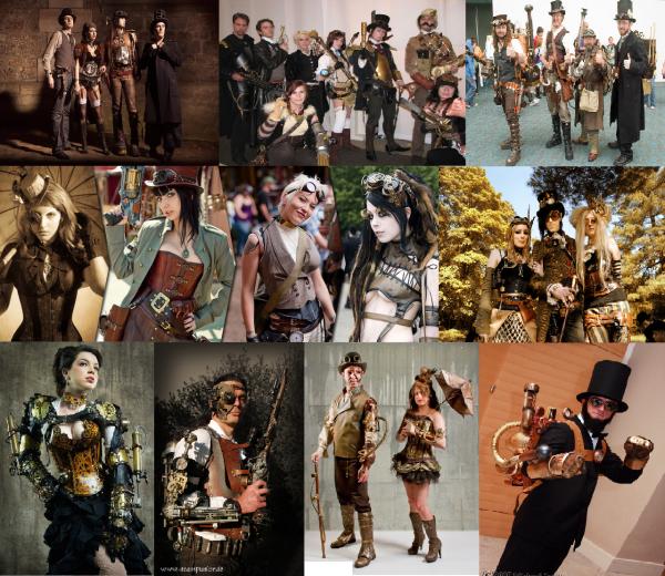 Concours dessins 7 : Thème : Disney a la mode steampunk