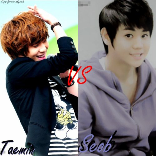 Taemin vs Yoseob / BIG BANG vs SUPER JUNIOR