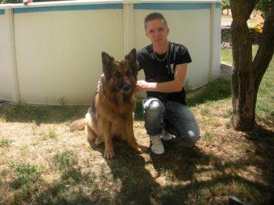 moi et mon chien
