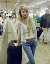 Moi à l'aéroport d'Espagne