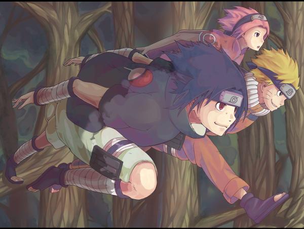 Naruto, Sakura & Sasuke