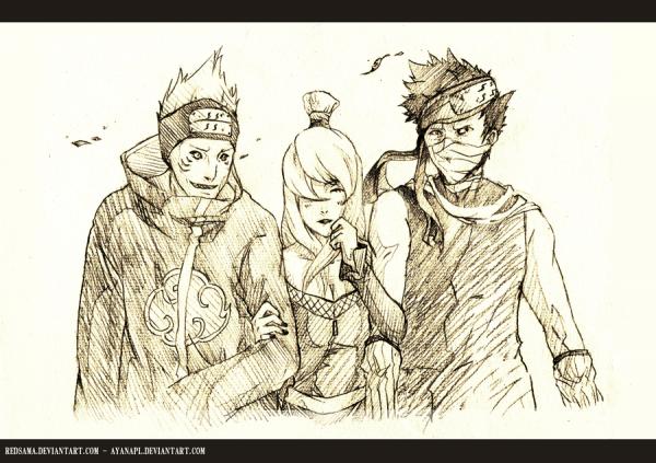 Kisame, Mizukage & Zabuza