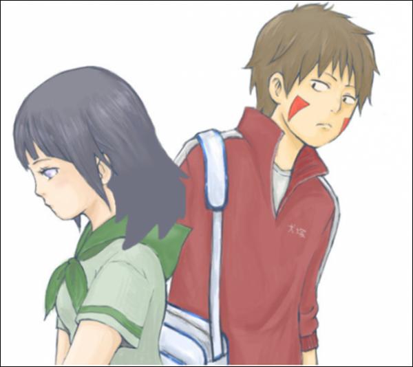 Hinata x Kiba