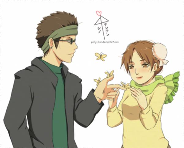 Tenten x Shino