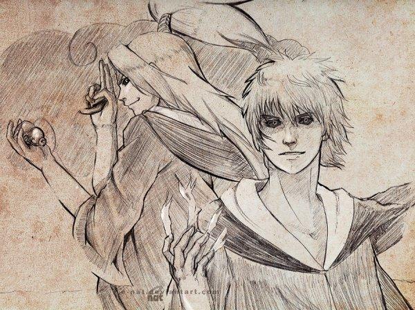 Deidara & Sasori (Edo Tensei)