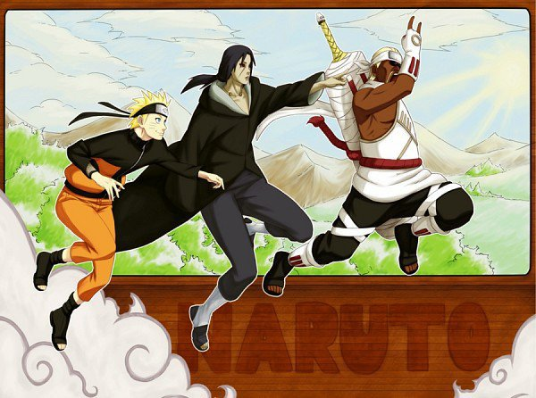 Naruto, Itachi & Killer Bee