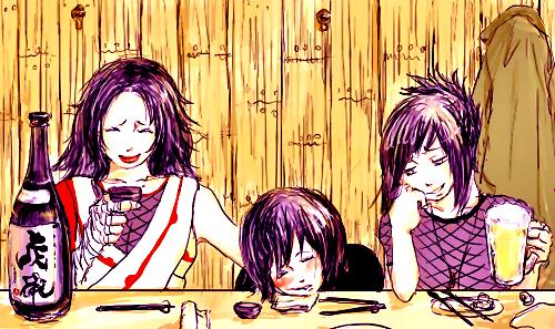 Kurenai, Shizune & Anko