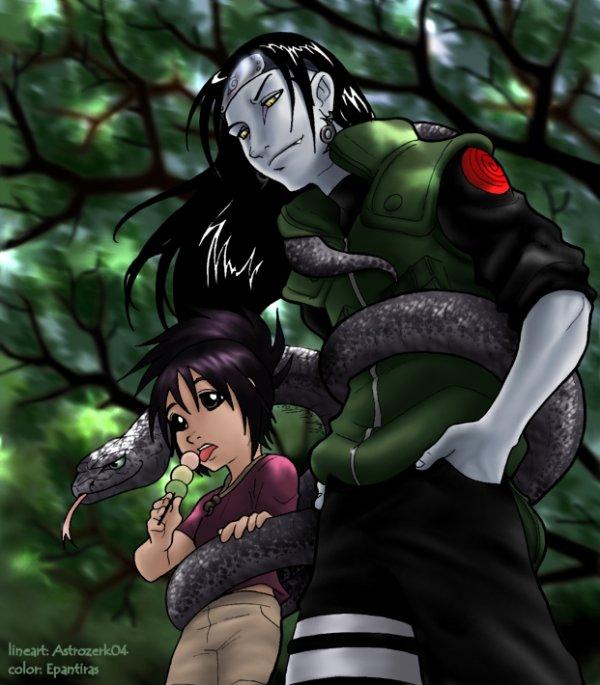 Anko & Orochimaru