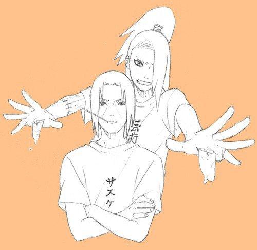 Itachi & Deidara