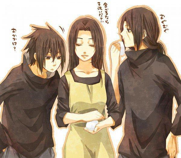 Sasuke, Mikoto & Itachi