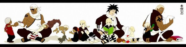 Darui, Killer Bee, Shii, Omoi, Karui, Yugito, Motoi, Atsui, Samui, Mabui & A