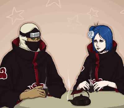 Kakuzu & Konan