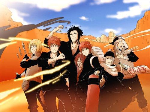 Yashamaru, 4th Kazekage, 3rd Kazekage, Sasori, Chiyo & Baki