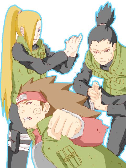 Ino, Chôji & Shikamaru