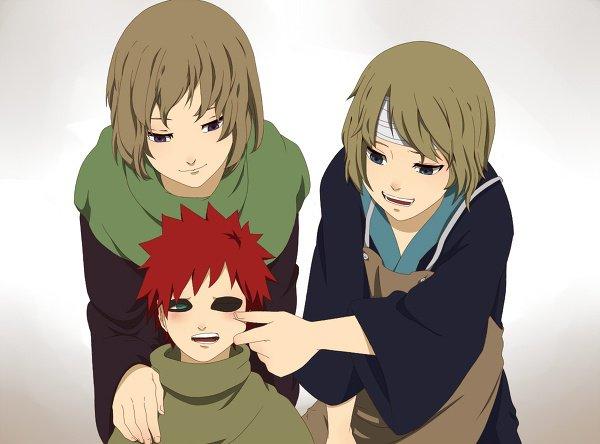 Karura, Yashamaru & Gaara