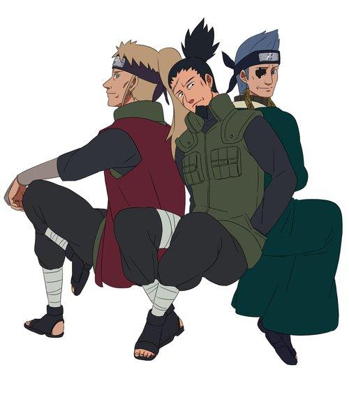 Inoichi, Shikaku & Ao