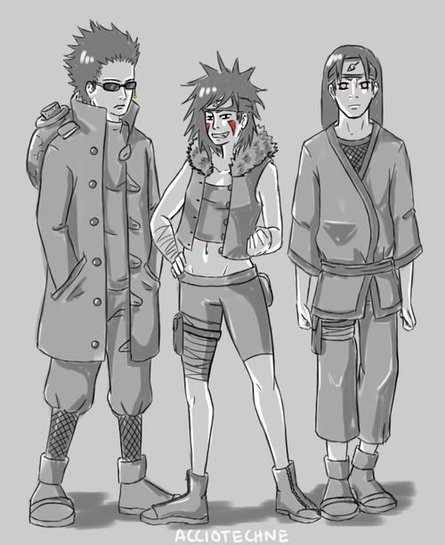 Shibi, Tsume & Hiashi