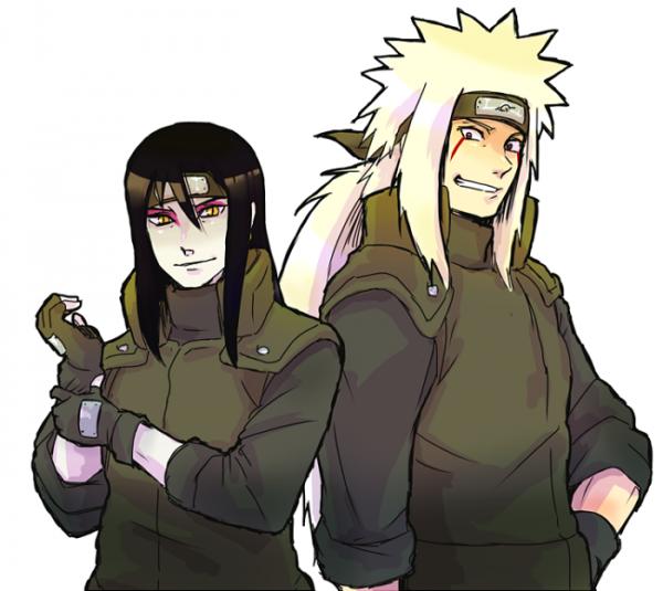 Orochimaru & Jiraya