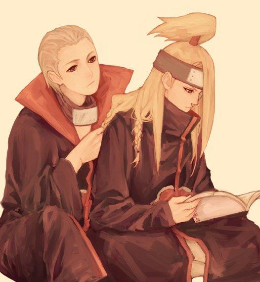 Hidan & Deidara
