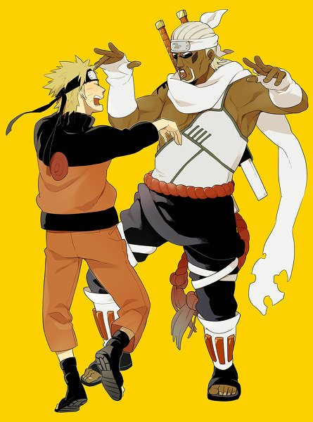 Naruto & Killer Bee