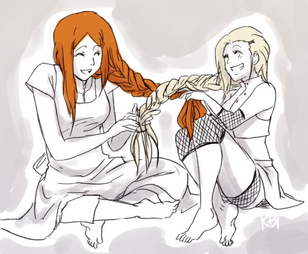 Kushina & Ino