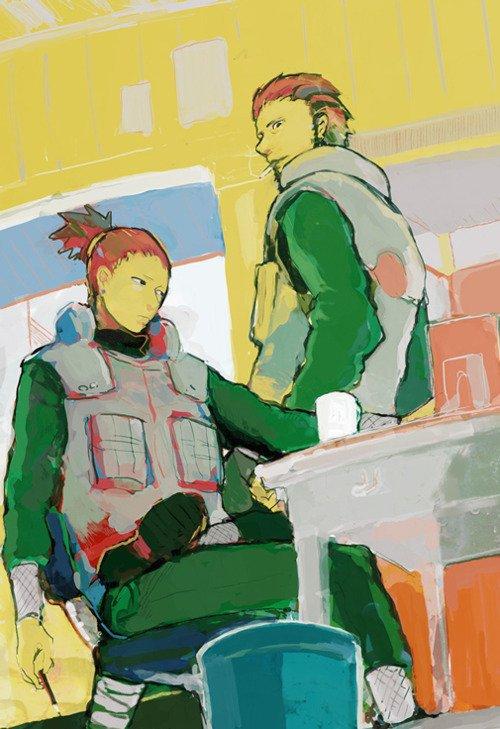 Shikamaru & Asuma