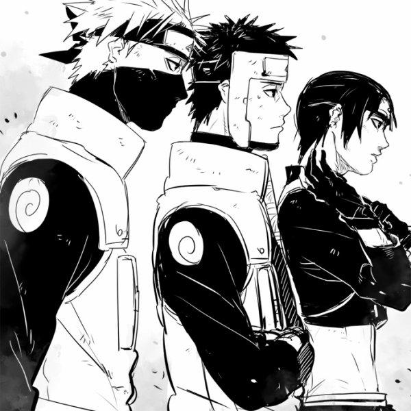 Kakashi, Yamato & Saï