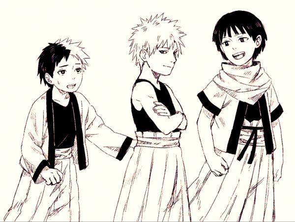 Itama, Tobirama & Hashirama