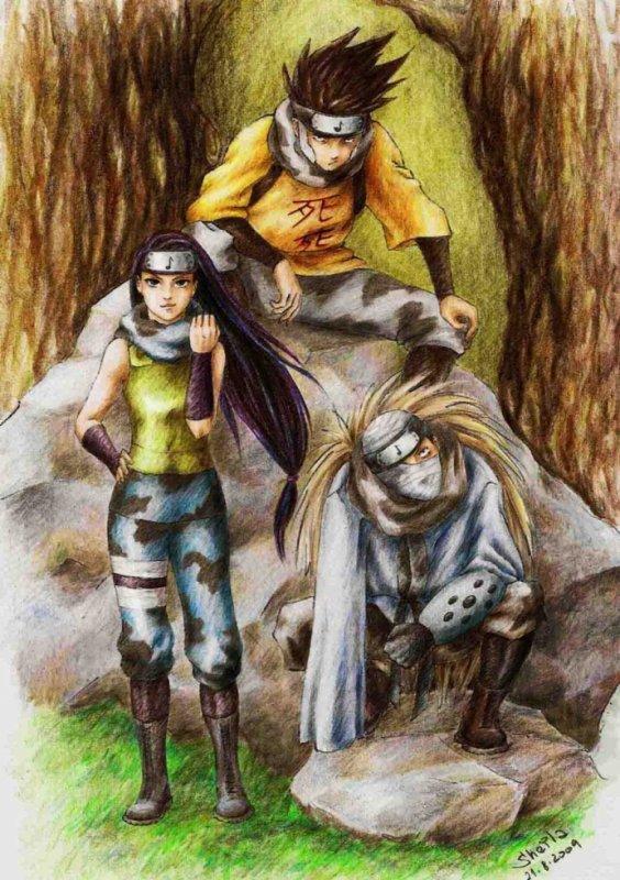 Zaku, Kin & Dosu