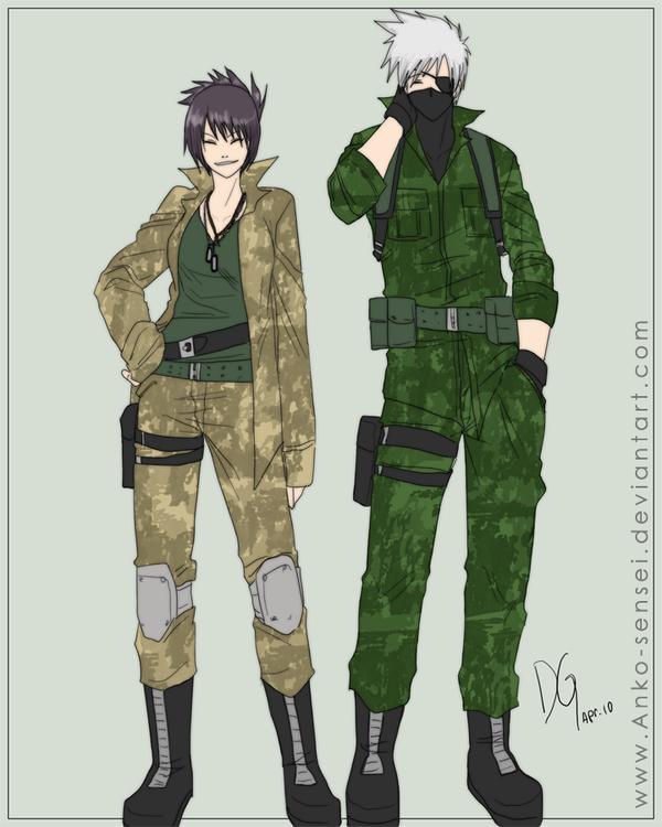 Anko & Kakashi
