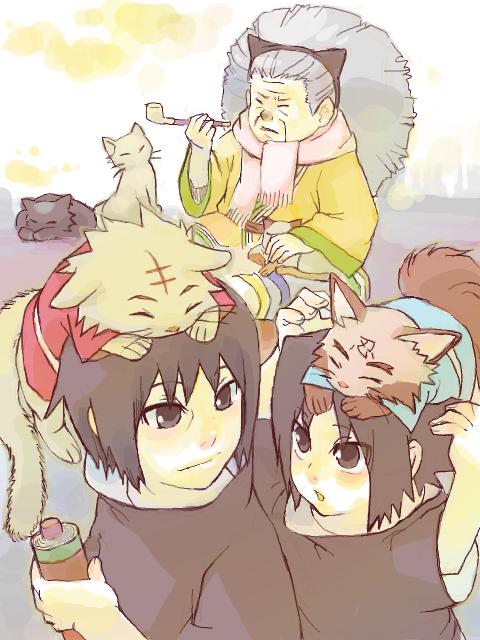 Nekobaa, Itachi & Sasuke