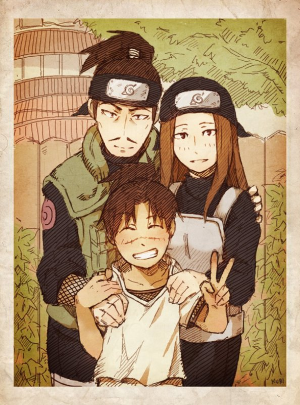 Iruka & his parents