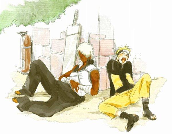 Darui & Naruto