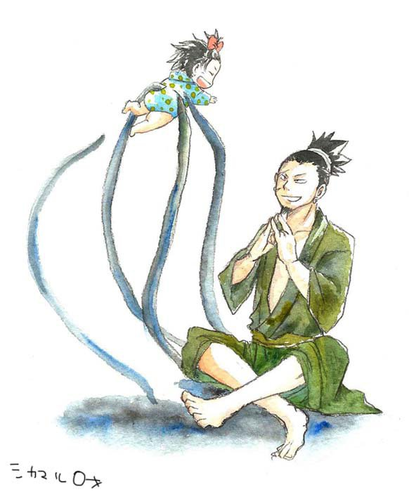 Shikaku & Shikamaru