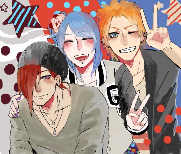 Nagato, Konan & Yahiko