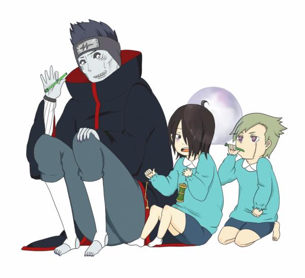 Kisame, Utakata & Yagura