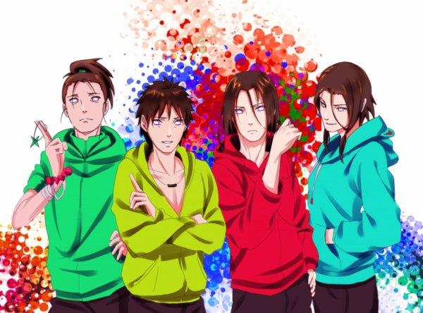 Hoheto, Kô, Neji & Tokuma