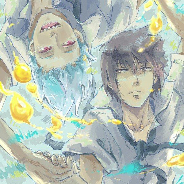 Suigetsu & Sasuke